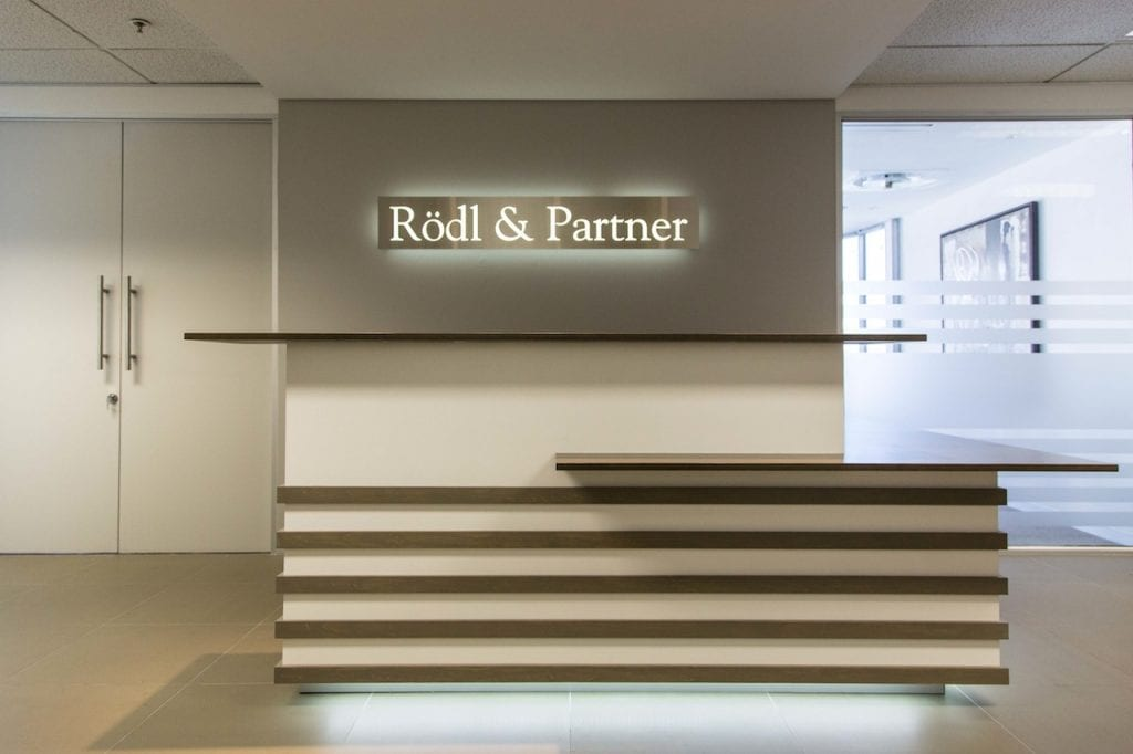 Rodl and Partner - Office Interior Design by PEG Design - Cape Town Interior Design Firm
