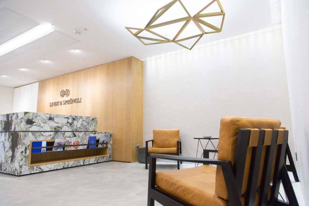 Lindt - Office Interior Design by PEG Design - Cape Town Interior Design Firm